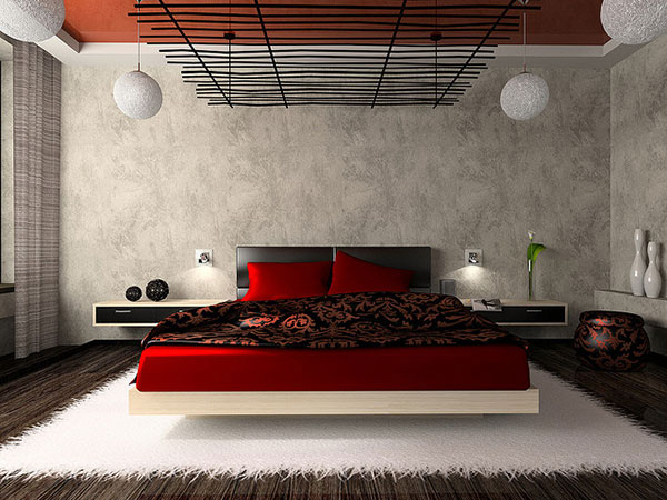 Rocking Red Bedroom