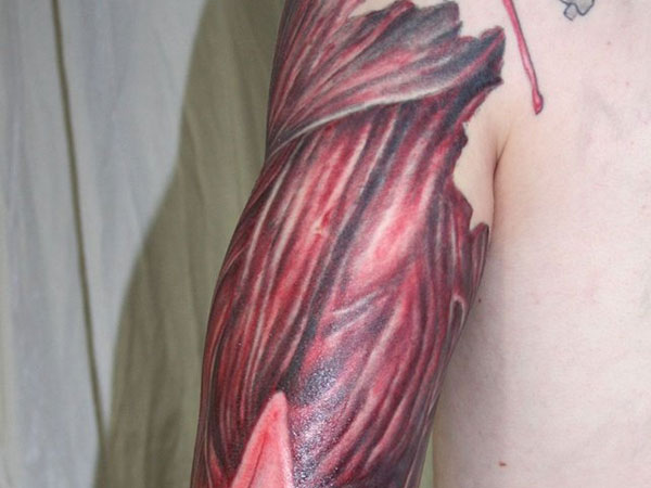 Muscle Tissue Tattoo