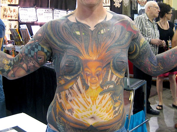 Horrible Front Tattoo