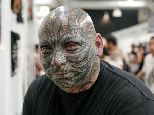 Terrible Face Tattoo