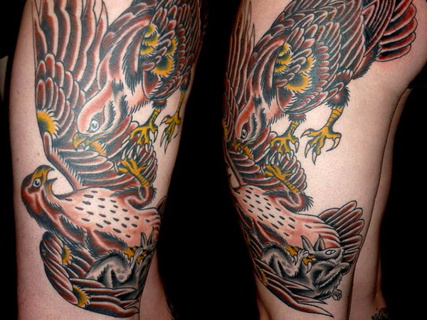 egal 25 Exotic Thigh Tattoos For Women