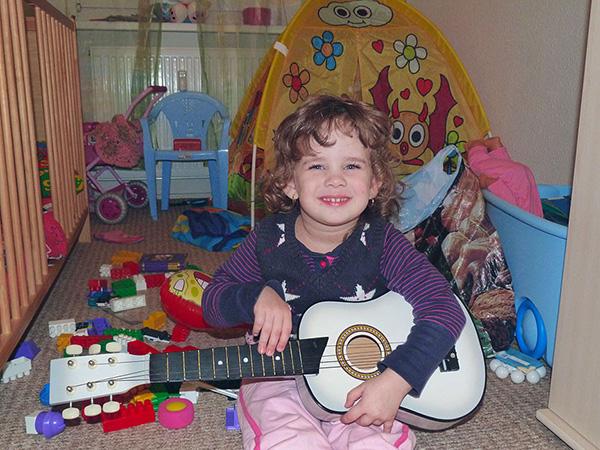 Budding Guitarist