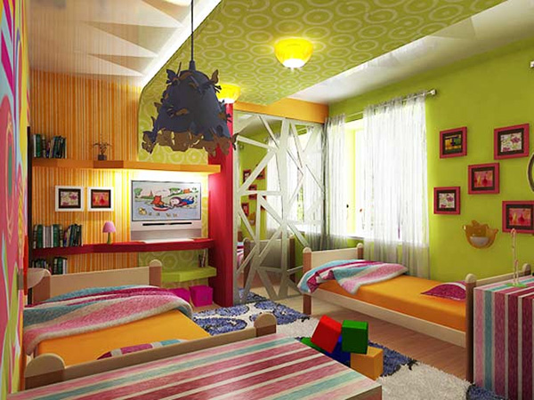 Rainbow Bedroom