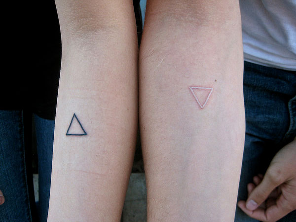 Our Triangle Tattoos
