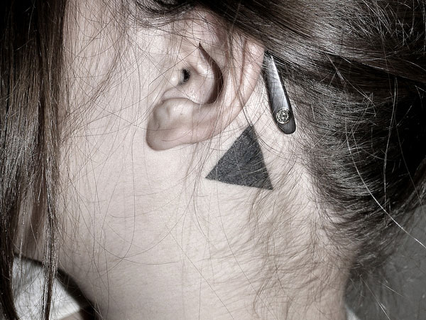 Small Triangle Tattoo