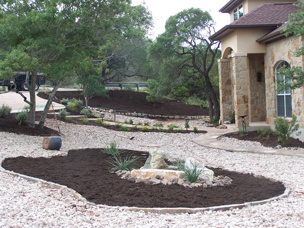 River Rock Yard Landscaping Ideas
