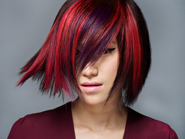 hair model 25 Gorgeous Two Tone Hair Color Ideas