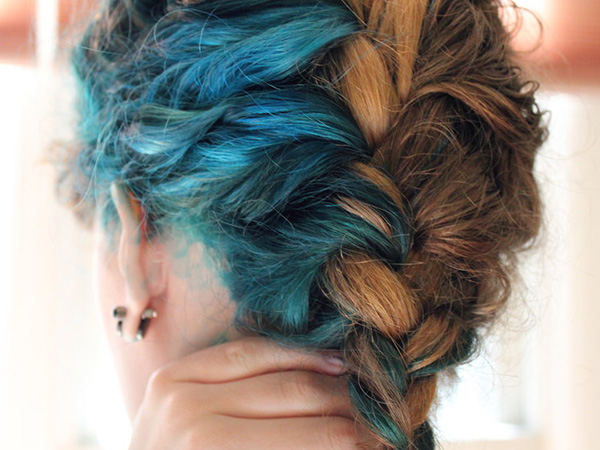 mermaid hair 25 Gorgeous Two Tone Hair Color Ideas