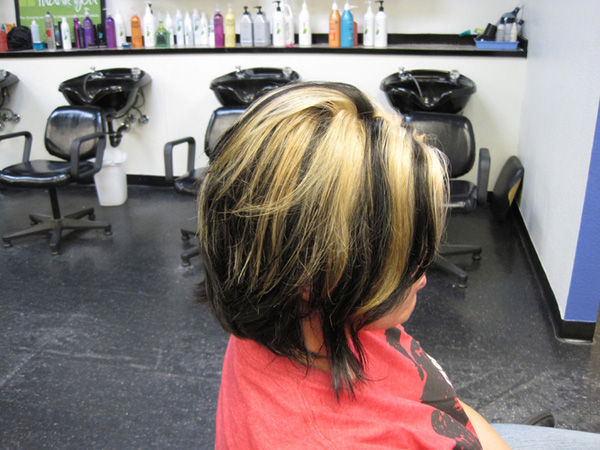 school haircolor 25 Gorgeous Two Tone Hair Color Ideas
