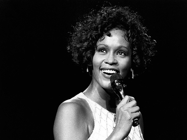 Whitney With Afro Curls