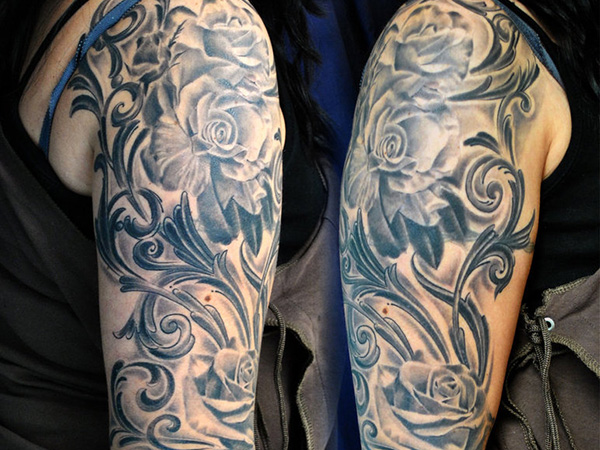 25 Tremendous Women Sleeve Tattoos - SloDive