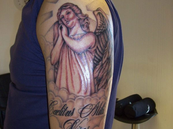 Divine Angel Tattoo