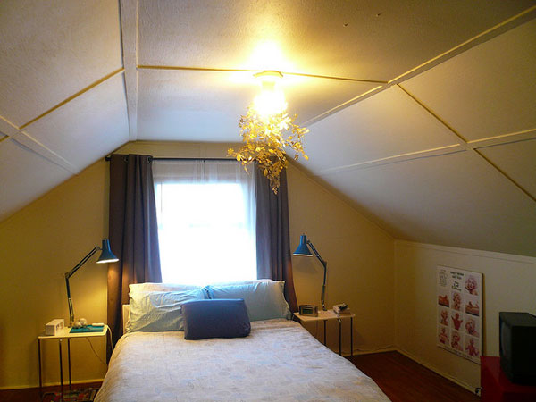 Light Point Attic Bedroom