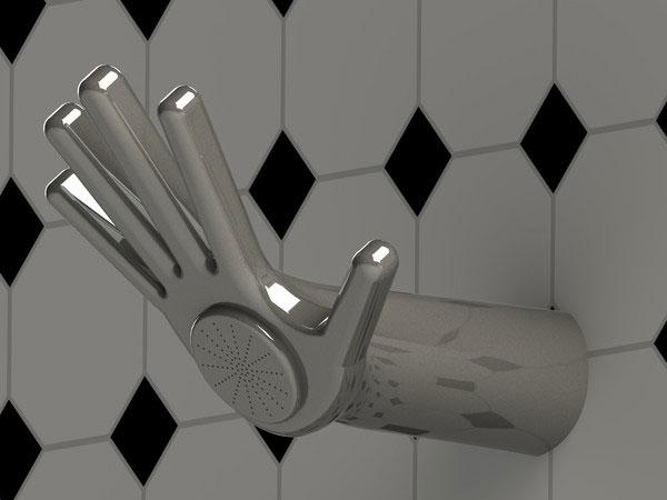 Pattern Combination Bathroom