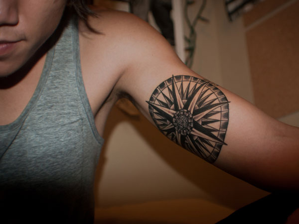 Circle Arm Tattoo
