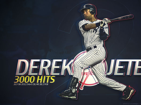 hitnumber 25 Different Derek Jeter Pictures