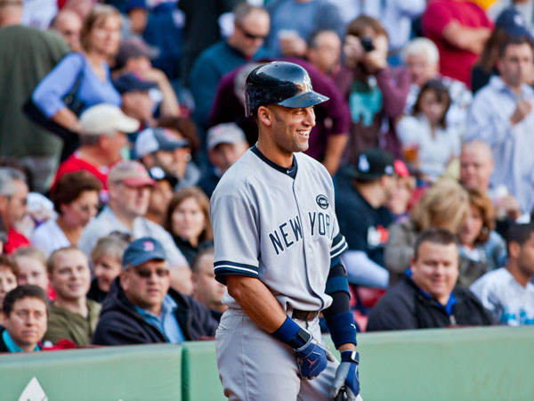 smile 25 Different Derek Jeter Pictures