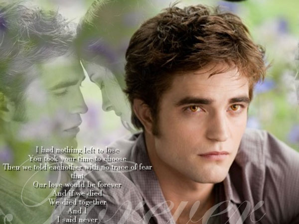 Warm Look Edward Cullen