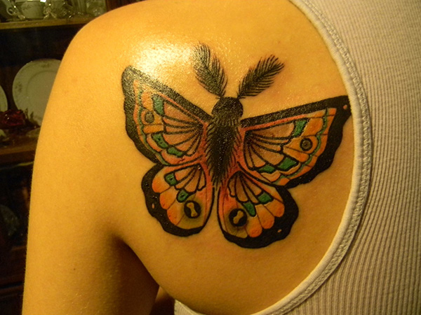 Feather Fly Tattoo
