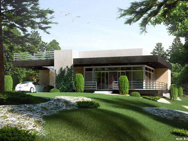 contemporary house 27 Elegant Exterior House Color Ideas