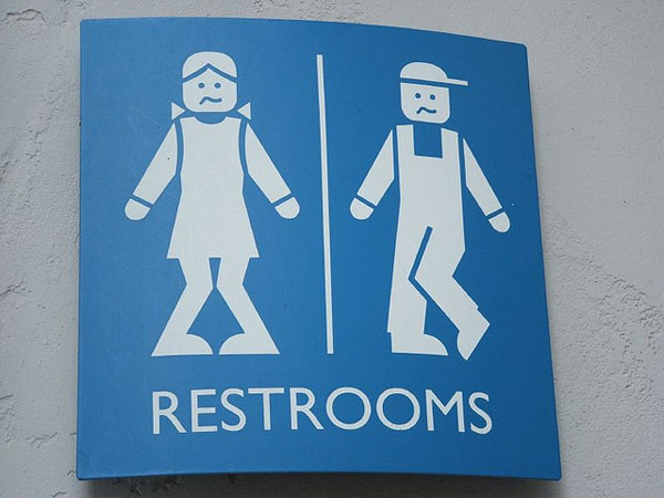 Dancer's Loo Sign