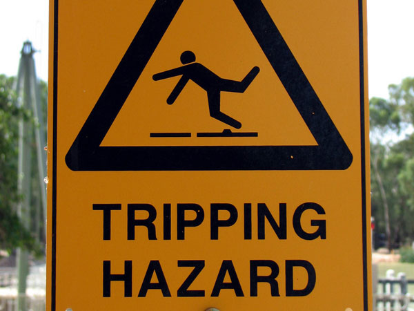 Trip Up Sign