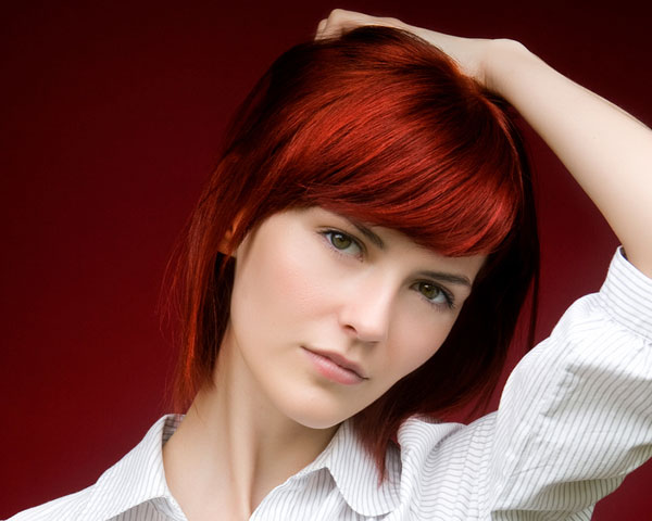 Hair Styles For Short Red Hair: 25 Staggering Hairstyles For Fine Hair Women