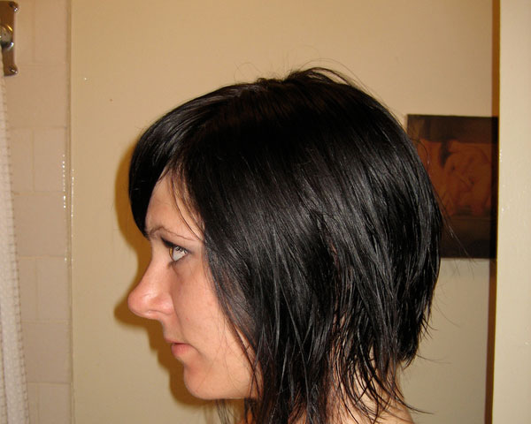 Shower Hairstyle