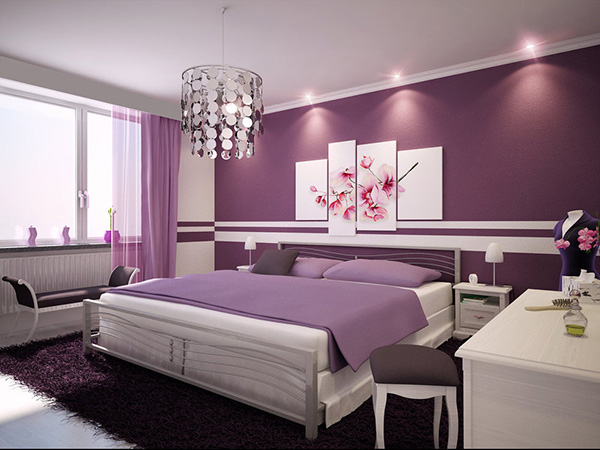 bedroom paint idea 26 Phenomenal Interior Paint Ideas