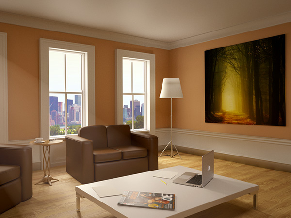 blender interior 26 Phenomenal Interior Paint Ideas