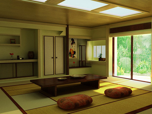 japanese interior color idea 26 Phenomenal Interior Paint Ideas