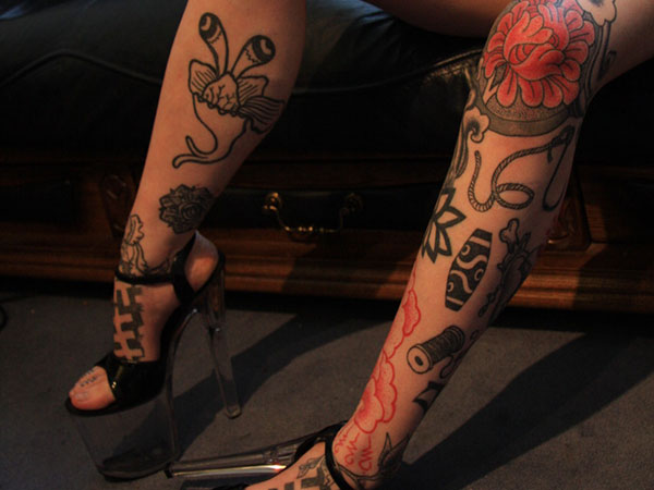 hotlegs 25 Exciting Leg Tattoos For Women