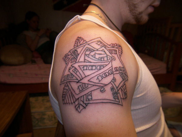 23 Tremendous Money Rose Tattoo Ideas Slodive
