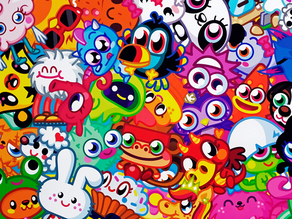 Moshi Monsters Colors