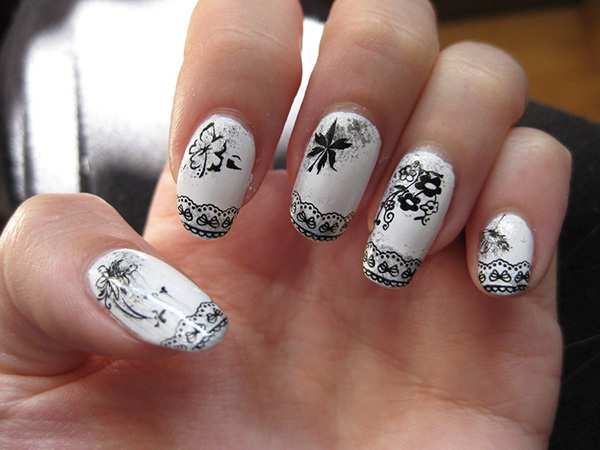 Lacy Art Nails