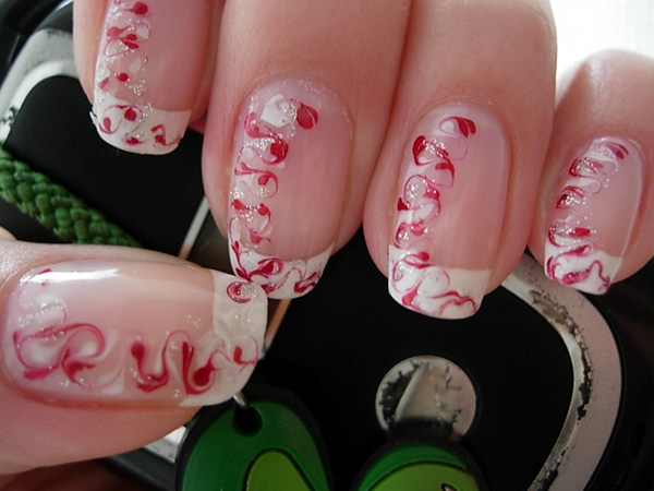 Marble Pattern Nails
