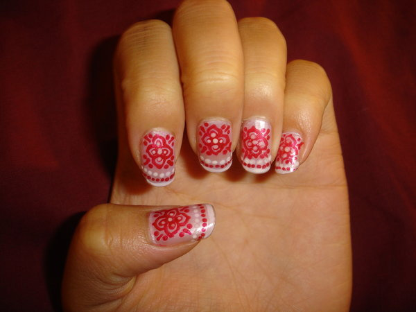 Indian Design Nails