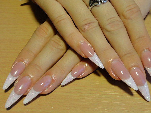 70 seductive nail designs slodive acrylic extension nails prinsesfo Gallery