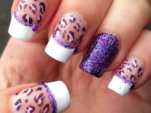 Leopard Spotted Nails
