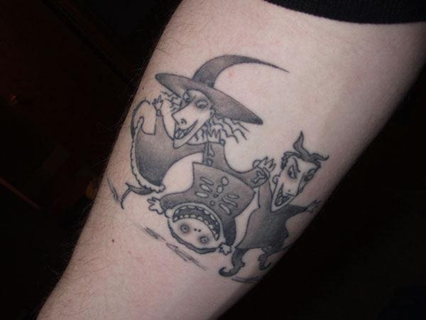 Nice Witchy Tattoo