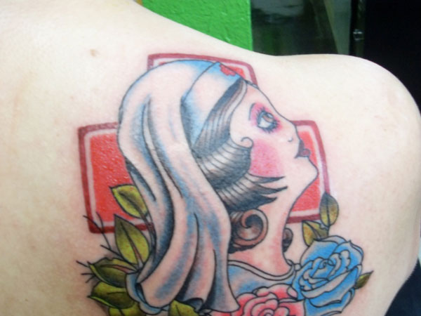 saucynurse 22 Adorable Nurse Tattoos