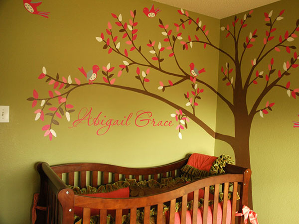 Nice Wall Decor For Baby Girl Frieze - Wall Art Design ...