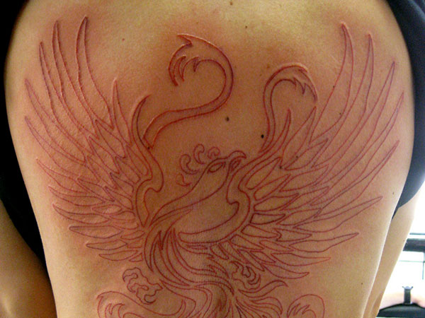 micaeltattoo 25 Stupendous Phoenix Tattoos For Women