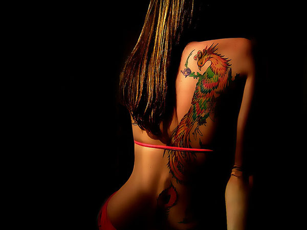 nicetattoo 25 Stupendous Phoenix Tattoos For Women