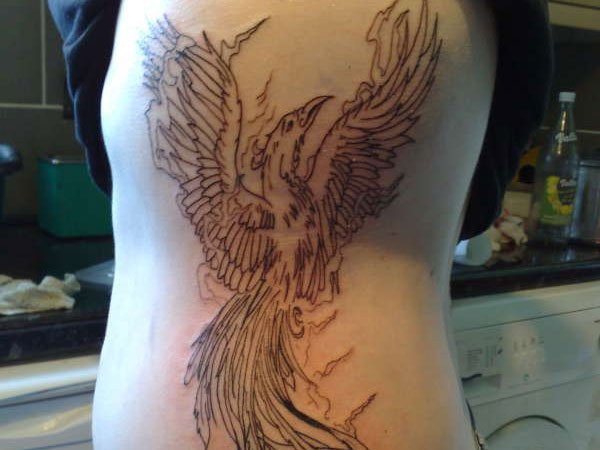 phonixfire 25 Stupendous Phoenix Tattoos For Women