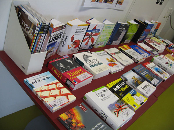 Techie Books Picture