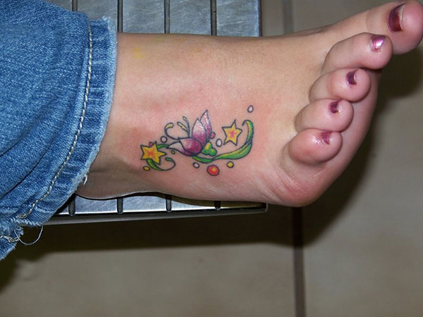 foot flower 25 Pretty Tattoos For Girls Which Look Amazing