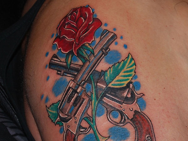 Guns n Roses Fan Tattoo