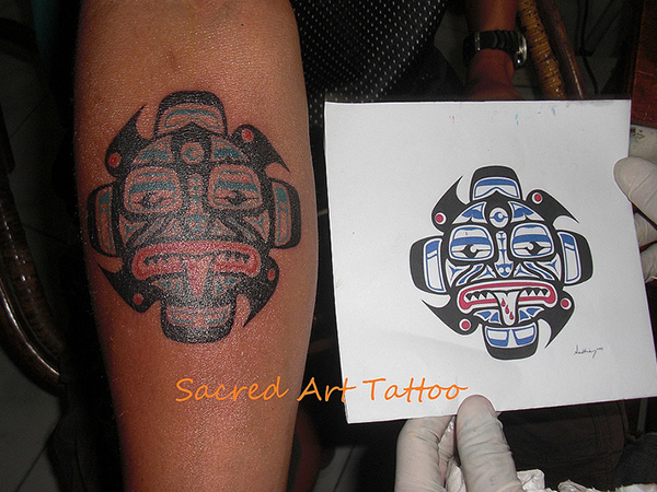 Sacred Tribal Art Tattoo