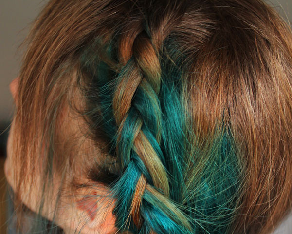 colorbraid 25 Royal Side Braid Hairstyles